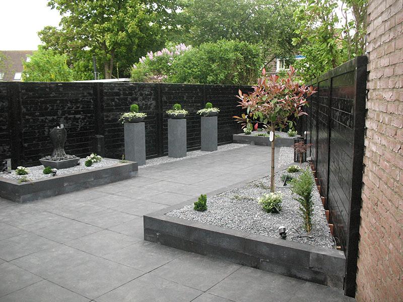 Aanleg nieuwe tuin in Kampen